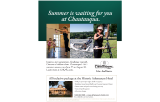 Chautauqua Institute Flyer
