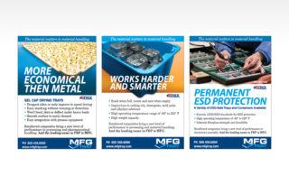 MFG Tray Trade Ads
