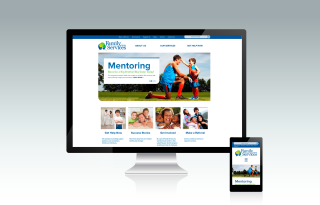 Family Services of NWPA responsive website
