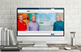 American Injection Molding (AIM) Institute's website design