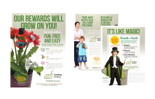 Funding factory flyers and print ads
