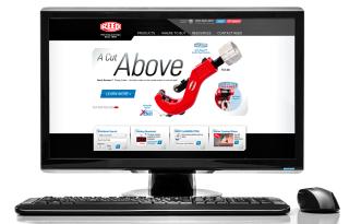 REED Manufacturing website design