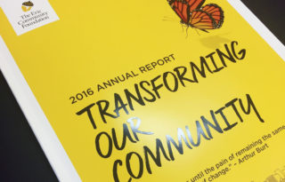 Erie Community Foundation 2016 Annual Report