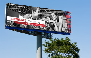 """Experience Edinboro"" outdoor campaign"