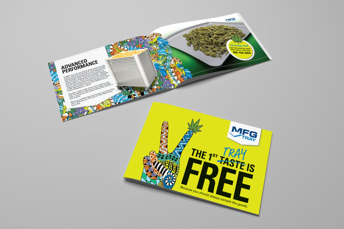 MFG Tray Cannabis Marketing Campaign